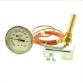 Gauge with mounting kit