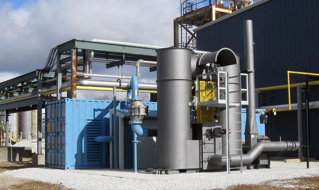 2300 ACFM Vacuum System with Bio-Sparging and Regenerative Thermal Oxidizer