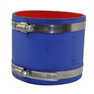 "4"" Flex Hose with clamps"