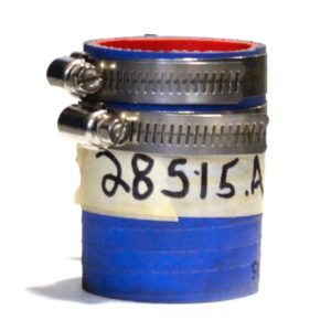 """1.5"""" flex hose connector with clamps"""