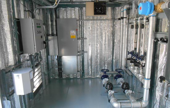 Custom Air compressor system container