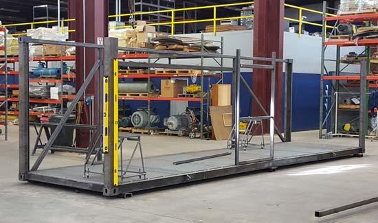 Custom equipment enclosure - step 1