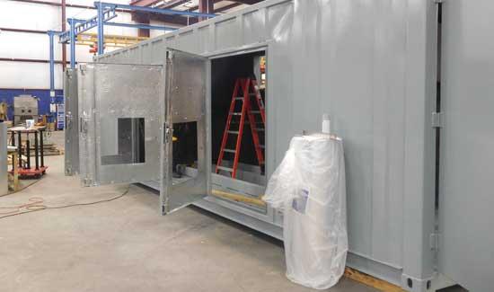 Custom equipment enclosure - step 10