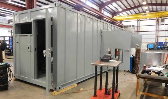 Custom equipment enclosure - step 11