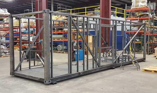 Custom equipment enclosure - step 2