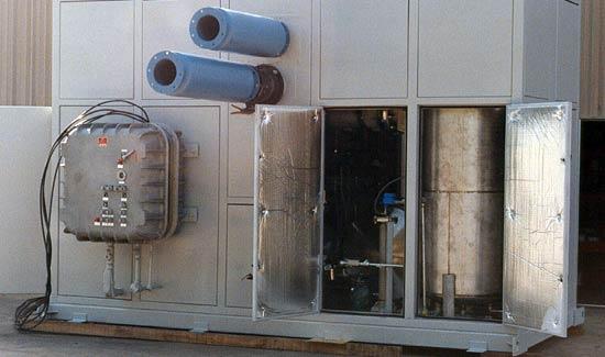 Custom heavy duty equipment enclosure