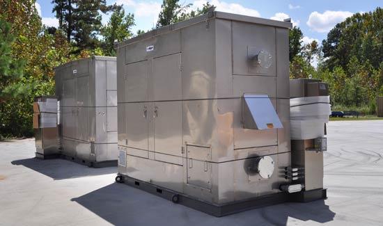 Custom stainless steel equipment enclosure