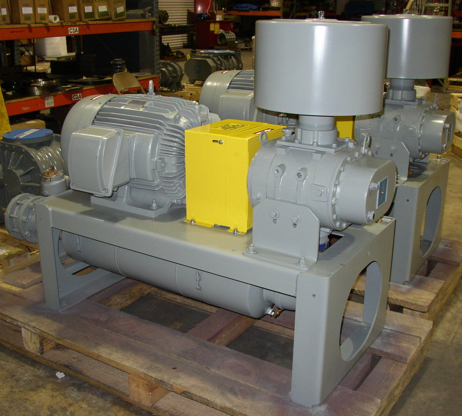 blower system pdblowers offers a line of direct drive blower  #AF9C1C