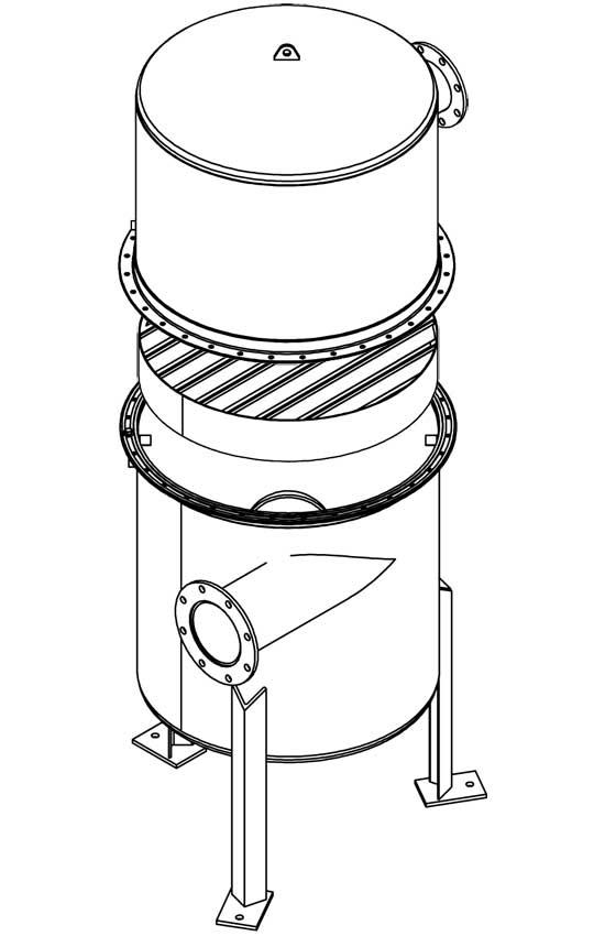 Custom Air Water Separators