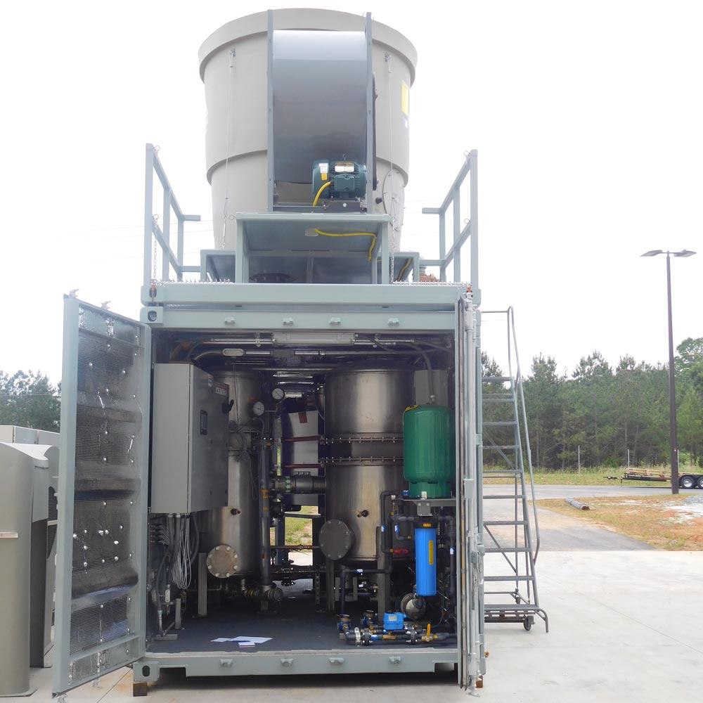 Custom Soil Vapor Extraction Equipment Trailer