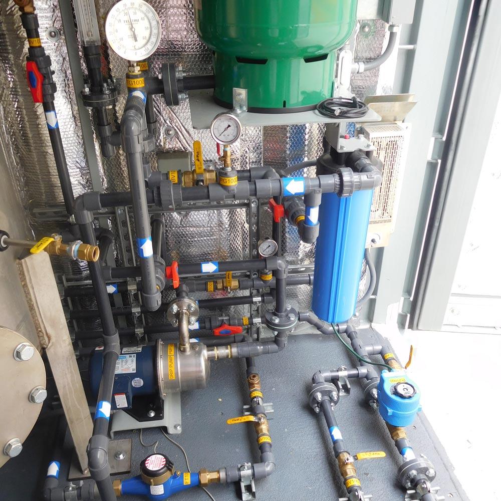 Custom Soil Remediation Drip System