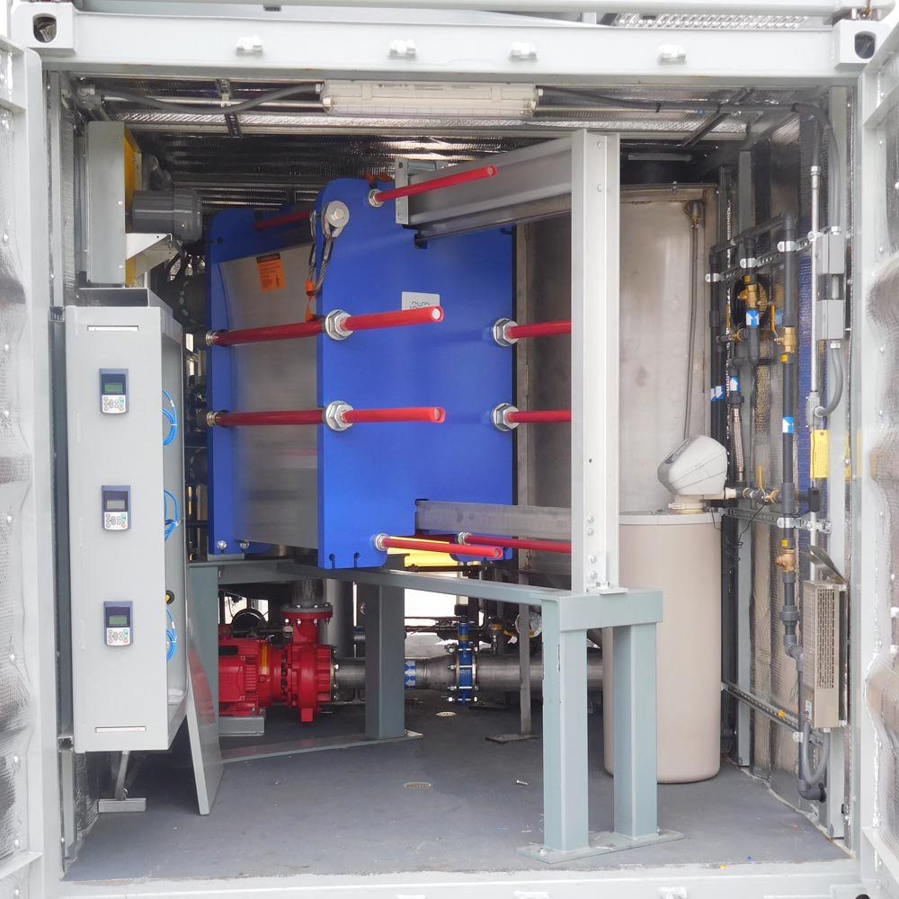 Soil Remediation System with Heat Exchanger
