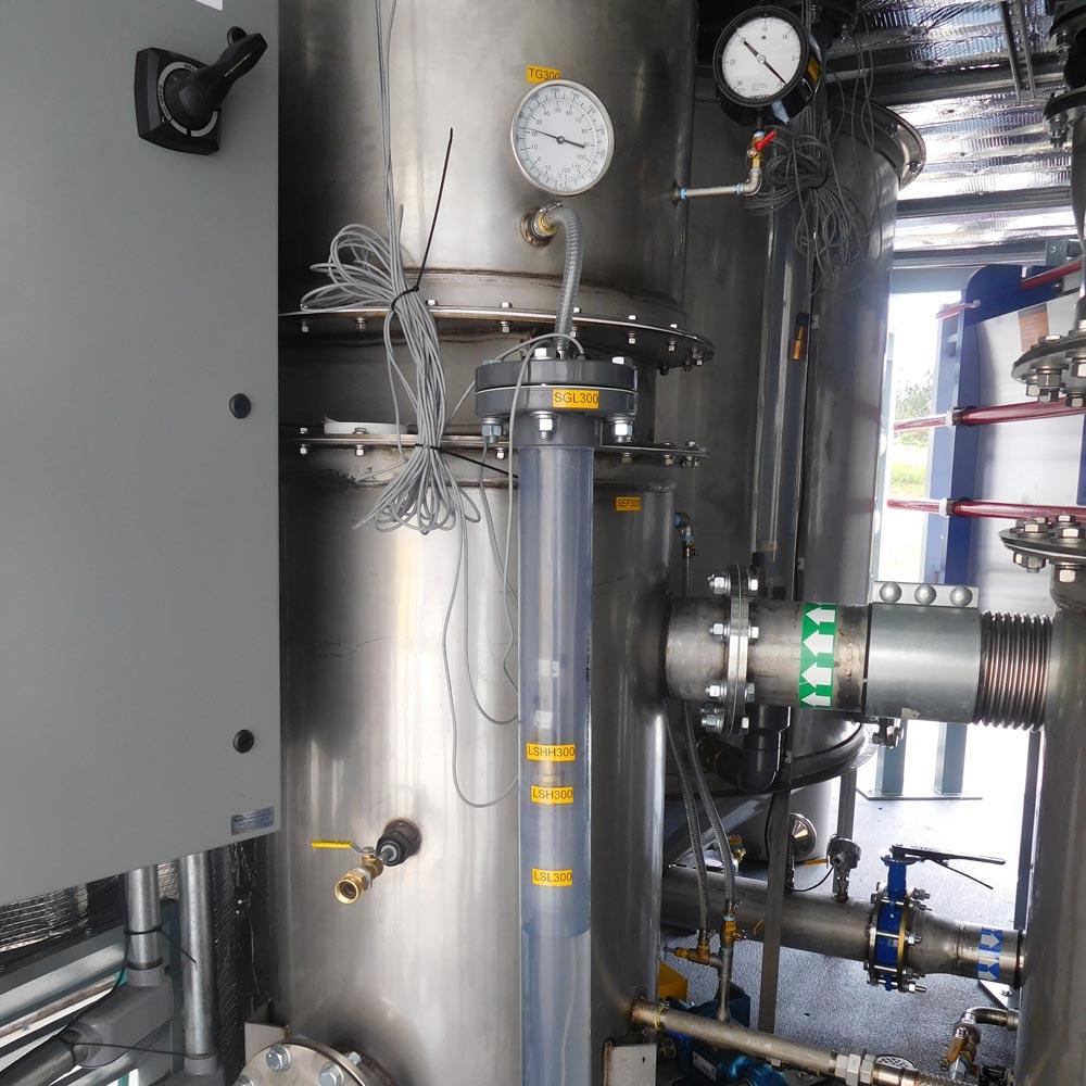 Custom Air/Water Separator for Soil Remediation