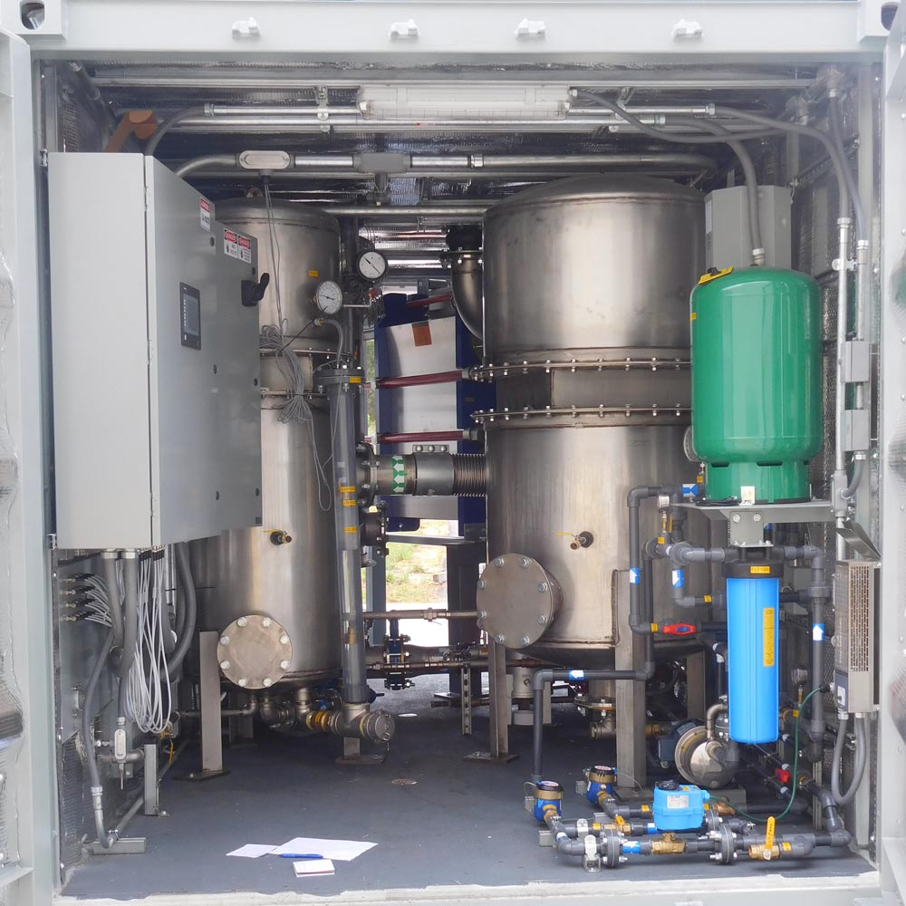 Soil Remediation System with Air/Water Separators