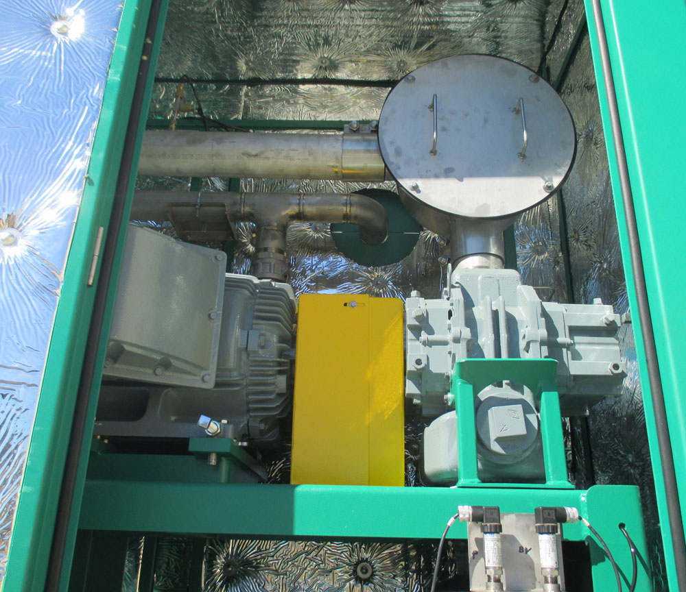 Dual Phase Extraction Remediation System