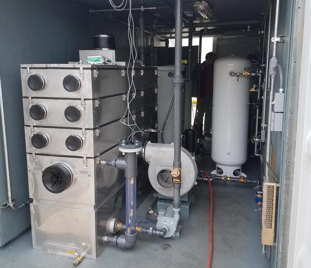 Air Compressor Biosparge System