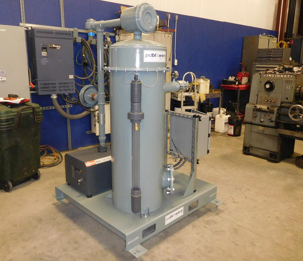 Soil Remediation Air Sparge System