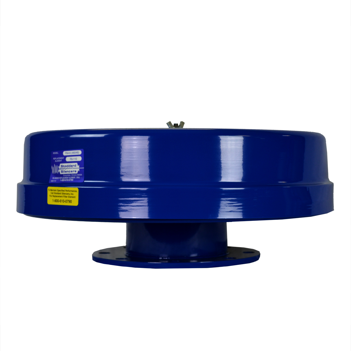 5� Flanged Filter/Silencer