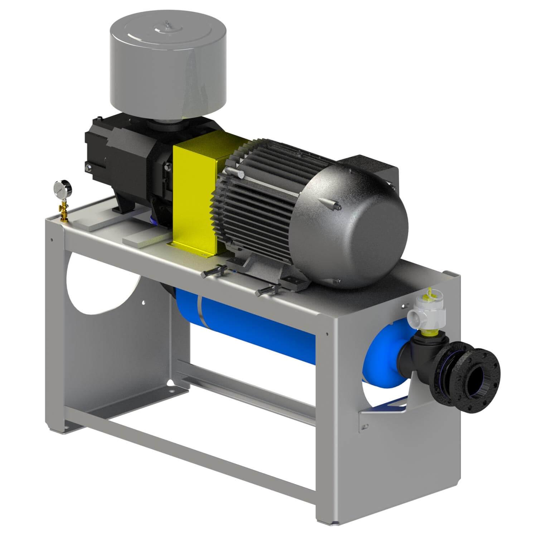 Vacuum Blowers Industrial Process : Pdblowers inc positive displacement blowers vacuum