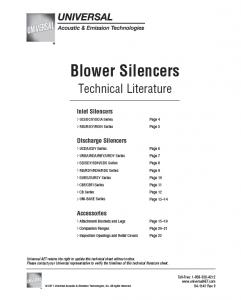 pdf_universal-blower-silencers-technical-literature