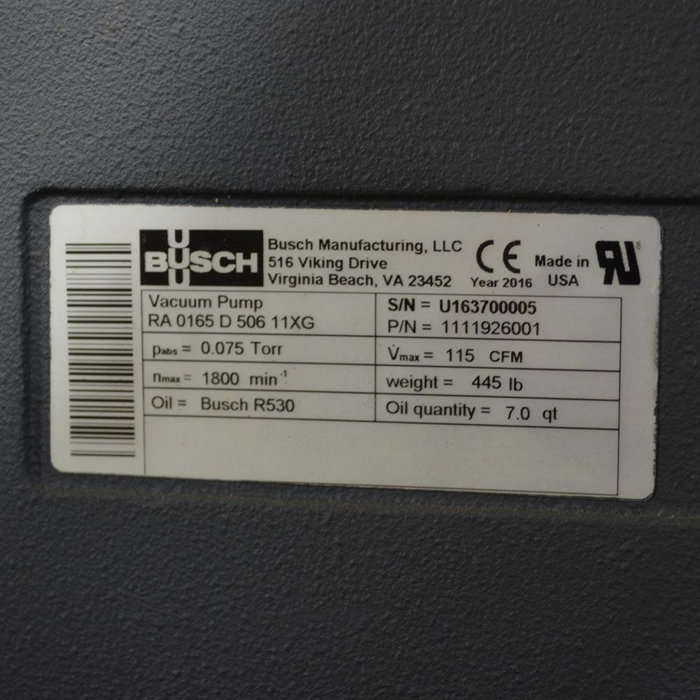 busch rc0100 vacuum pump manual