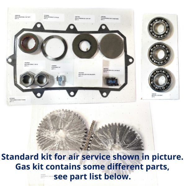 "pn26411.A - URAI-G 6"" GAS repair kit with timing gears"