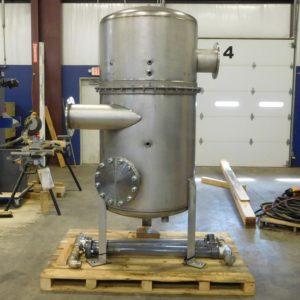 Stainless steel air/water separator