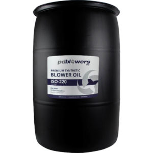 pdblowers VG220 blower oil 55 Gallon drum