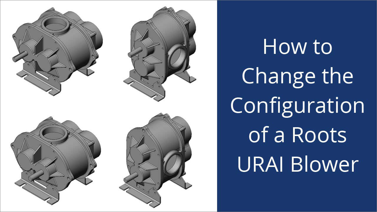 How to flip a URAI DSL blower