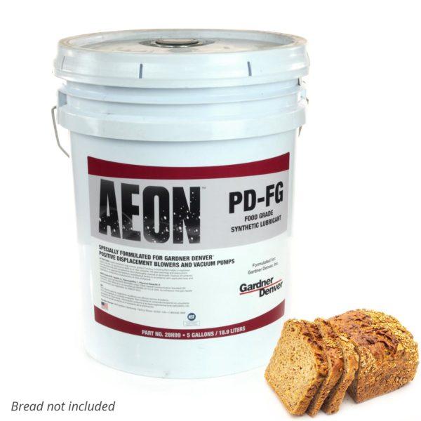 Aeon PD-FG Food Grade Blower Oil, 5-Gallon Pail